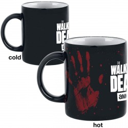 Walking Dead Hand Print Heat Changing Mug