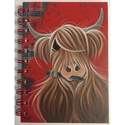 Scotland Rules are for fools Artist designed A6 Notebook 100 Pages