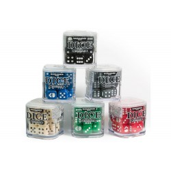 Warhammer - 20 dices 6 side Pack - Colour Chosen At Random (1 pack of 20 dice supplied)
