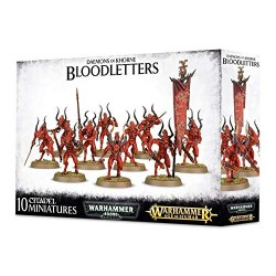 Games Workshop Daemons of Khorne Bloodletters Miniature