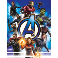 Marvel End Game Canvas, Multi-Colour, 60cm by 80 cm