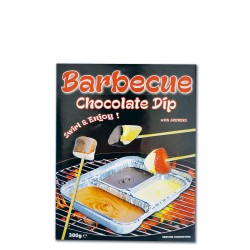 Barbecue Chocolate Dark, Milk and White 300 grams
