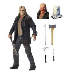 "NECA Friday the 13th Ultimate Jason Voorhees 2009 7"" Scale Action Figure"