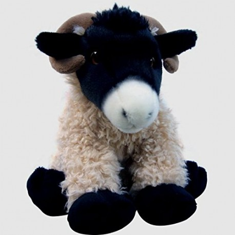 "Black Faced Highland Sheep Cuddly Soft Plush Toy 16"" - Heathcliff LARGE"