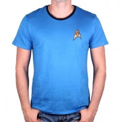 Star Trek Men's Science Blue T-Shirt