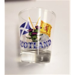 Tartan Scottish Shot Glass