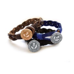 Woven Leather Bracelets (1 SUPPLIED)