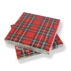 Royal Stewart Paper Napkins