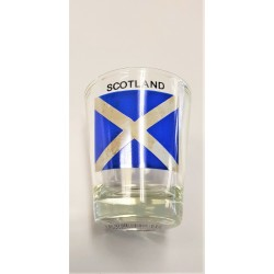 Traditional Scottish Piper Shot Glass