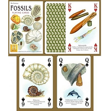 Heritage Playing Cards - Fossils Playing Cards