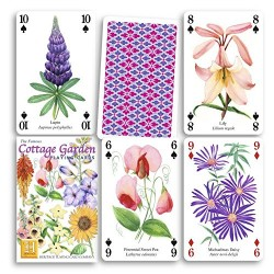 Heritage Playing Cards - Cottage Garden Playing Cards