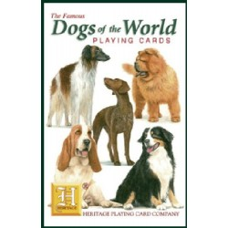 Heritage Playing Cards. Dogs Of The World