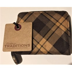 Heritage Traditions Checked Purse