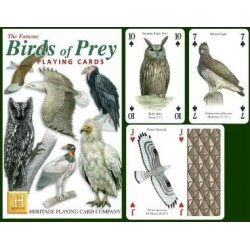 Heritage Playing Cards. Birds of Prey