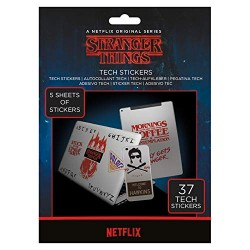 Stranger Things TS7403 Stickers, Multi-Colour, 18 x 24cm