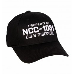 Star Trek Discovery - Property of NCC-1031 Cap Black