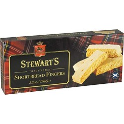 Stewart's Scotland - Traditional Shortbread Fingers 150g