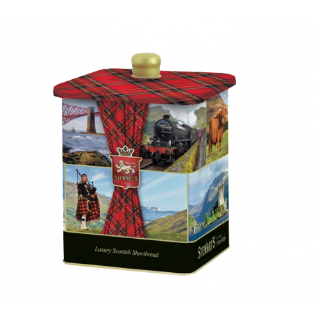 Luxury Scottish shortbread tin