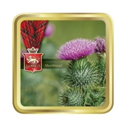 Stewart's Scotland - Flower of Scotland Tin Filled with Luxury Shortbread 125g