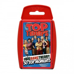 The Big Bang Theory Top Trumps Card Game