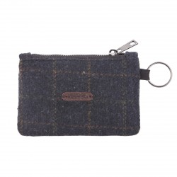 Highland Traditions Blue Box Tweed Coin Purse