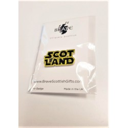 Scotland pin badge