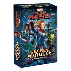 USAopoly USOBN011576 Captain Marvel: Secret Skrulls, Mixed Colours