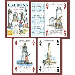 Heritage Playing Cards - Lighthouses of the World Playing Cards