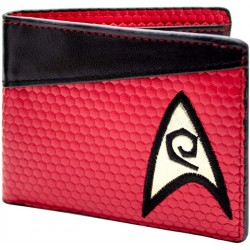 Star Trek Engineering Shirt Multicoloured Coin and Card Bi Fold Wallet