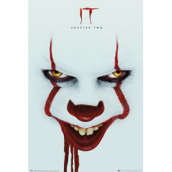 GB Eye Limited IT Chapter 2 Face Pennywise Maxi Poster Picture 61x91.5cm | 24x36 inches