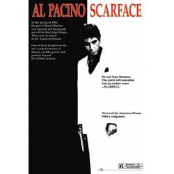Scarface One Sheet Al Pacino Movies Maxi Poster Print 61x91.5cm | 24x36 inches