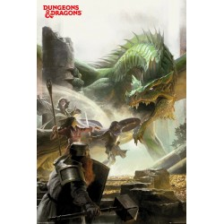 Dungeons & Dragons Adventure Gaming Maxi Poster Picture 61x91.5cm | 24x36 inches