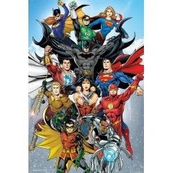 DC Comics Rebirth Portrait Maxi Poster Picture 61x91.5cm | 24x36 inches