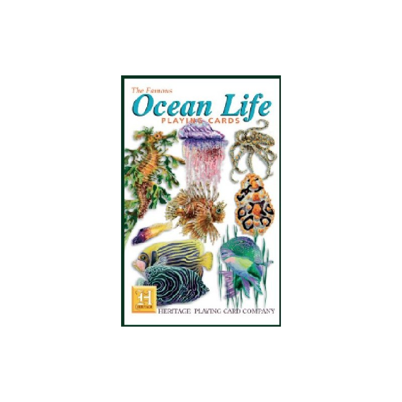 Heritage Playing Cards - Ocean Life Playing Cards