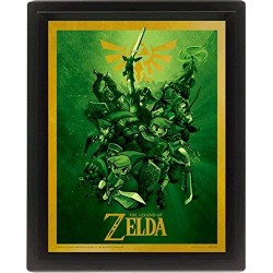 The Legend Of Zelda Link 3D Lenticular Picture 10 x 8-Inch