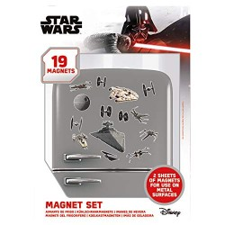 Star Wars MS65085 it of 19 Magnets Star of the Dead Hatch Multi-Colour 18 x 24 x 0 3 cm