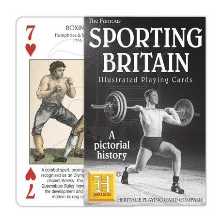 Sporting Britain Illustrated Playing Cards