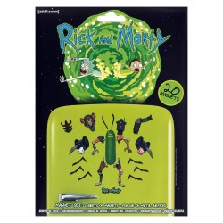 Rick & Morty (Weaponize the Pickle) Magnet Set