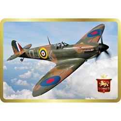 Stewart's Scotland - Classic Spitfire Tin Filled with Luxury Shortbread 150g