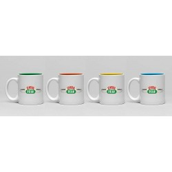GB eye Friends Espresso Mugs 4-Pack Central Perk Cups