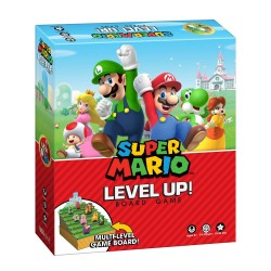 USAopoly USOLU005191 Bros Super Mario Level Up Game, Mixed Colours