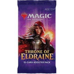 Magic The Gathering 4x Throne Of Eldraine Boosters 4 Packs Supplied
