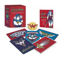 Wonder Woman: Magnets, Pin, and Book Set