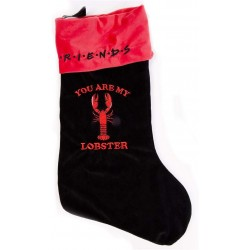 Friends You Are My Lobster Christmas Stocking