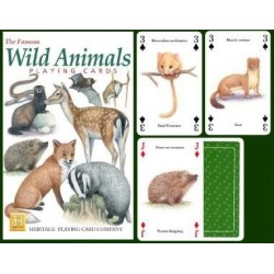 Heritage Playing Cards. Wild Animals