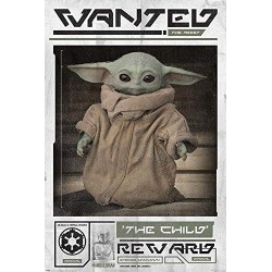 STAR WARS - The Mandalorian - Poster 61X91 - Wanted the Child