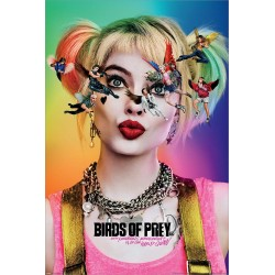 Harley Quinn Birds Of Prey Seeing Stars Maxi Poster 61x91.5cm