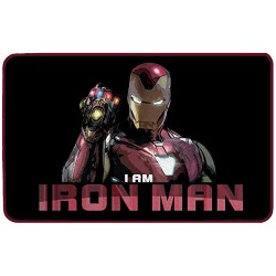 IRON MAN - Microfiber mat - 70x50cm - I am Iron Man