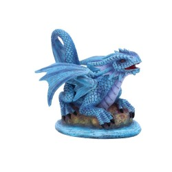 Nemesis Now Anne Stokes Age Small Water Dragon Figurine, Blue, One Size