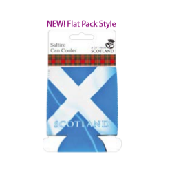 Scotland Saltire Can Cooler